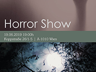 Poster for a horror show